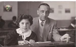 L'alunna e l'insegnante